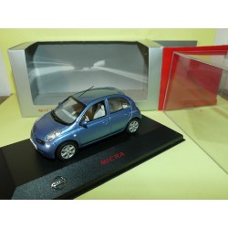 NISSAN MICRA MK12 Bleu   J-COLLECTION 1:43