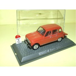 RENAULT 4 SUPER 1963 Marron UNIVERSAL HOBBIES 1:43  M6 Interaction