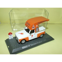 RENAULT 4 MARCHAND DE GLACES 1968 UNIVERSAL HOBBIES 1:43  M6 Interaction