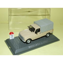 RENAULT 4 L PICK UP Baché 1983 UNIVERSAL HOBBIES 1:43  M6 Interaction