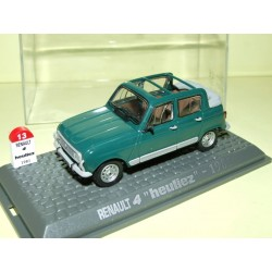 RENAULT 4 HEULIEZ 1981 UNIVERSAL HOBBIES 1:43  M6 Interaction