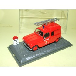 RENAULT 4 Fourgonnette POMPIERS DE NICE 1965 UNIVERSAL HOBBIES 1:43  M6 Interaction