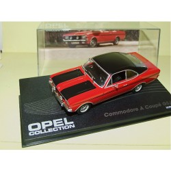 OPEL COMMODORE A COUPE GS/E Rouge 1970-71 ALTAYA 1:43