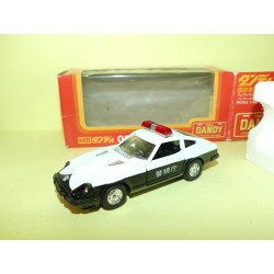 NISSAN FAIRLADY 280 ZT POLICE Made in Japan TOMICA DANDY 1:43