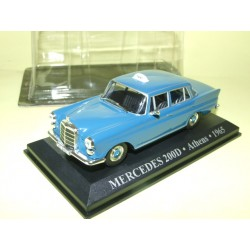 MERCEDES 200 D TAXI D'ATHENES 1965 ALTAYA 1:43 blister
