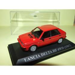 LANCIA DELTA HF 4WD 1987 Rouge ALTAYA 1:43