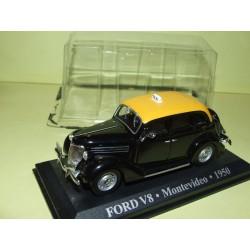 FORD V8 TAXI DE MONTEVIDEO 1950 ALTAYA 1:43 blister