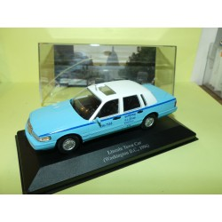 LINCOLN TOWN CAR 1996 TAXI DE WASHINGTON ALTAYA 1:43 défaut