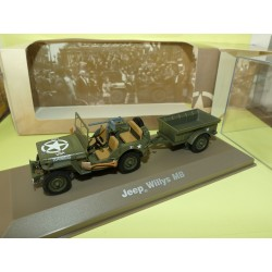 JEEP WILLYS MB MILITAIRE ATLAS N°01 1:43