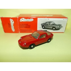 SAAB SONETT II 1985 Rouge MODEL SOMERVILLE 125 1:43