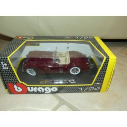 JAGUAR XK 120 ROADSTER Bordeaux BURAGO 1:24