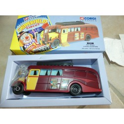 CAPING CAR AEC REGAL LIVING QUARTERS CHIPPERFIELS CIRCUS CIRQUE CORGI 97022 1:50