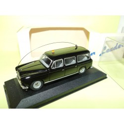 PEUGEOT 403 BREAK GENDARMERIE Noir LEADER 140112 1:43