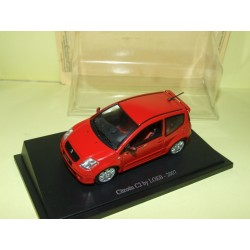 CITROEN C2 BY LOEB 2007 Rouge UNIVERSAL HOBBIES 1:43 sous blister