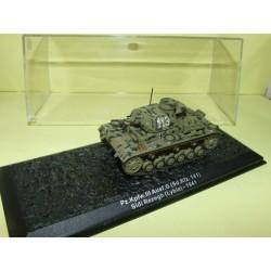 CHAR DE COMBAT N°24 Pz.Kpfw.III Ausf.G LYBIE 1941 ALTAYA 1998 1:72