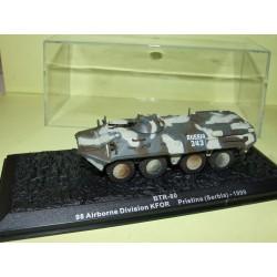 CHAR DE COMBAT N°31 BTR 80 SERBIE 1999 ALTAYA 1998 1:72