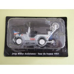 JEEP WILLYS Assistance Tour De France 1951 NOREV pour ATLAS 1:43