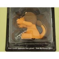 KART CREDIT LYONNAIS LION Tour De France 2003 NOREV pour ATLAS 1:43