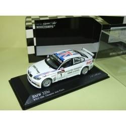 BMW 320 Si N°1 WTTC 2006 PRIAULX MINICHAMPS MINICHAMPS 1:43 1er