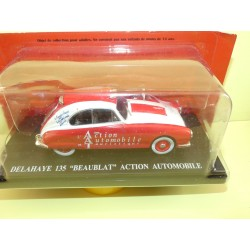 DELAHAYE 135 BEABLAT Action Automobile HACHETTE 1:43