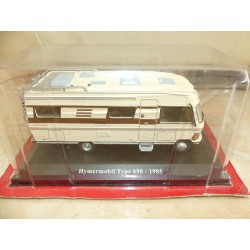 CAMPING CAR HYMERMOBIL TYPE 650 1985 HACHETTE 1:43