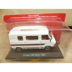 CAMPING CAR CITROEN C35 NOTIN 1980 HACHETTE 1:43