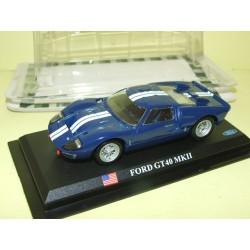 FORD GT 40 MK II Bleu FABBRI 1:43 blister