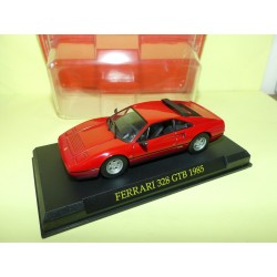 FERRARI 328 GTB 1985 Rouge FERRARI GT COLLECTION HACHETTE 1:43 sous coque