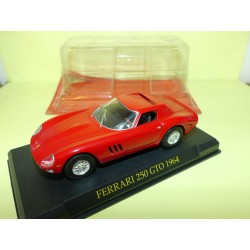 FERRARI 250 GTO 1964 Rouge FERRARI GT COLLECTION HACHETTE 1:43 sous coque