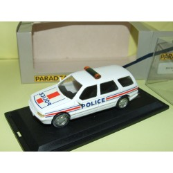 PEUGEOT 405 BREAK POLICE PARADCAR 012 1:43