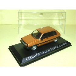 CITROEN VISA II SUPER E 1981 Marron ALTAYA 1:43