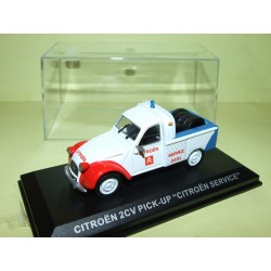 CITROEN 2CV PICK UP CITROEN SERVICE ALTAYA 1:43