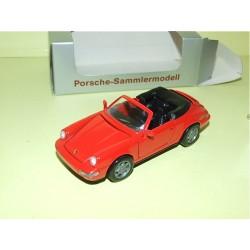 PORSCHE 911 CABRIOLET 964 Rouge NZG 1:43