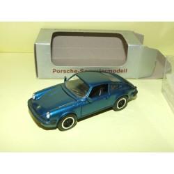 PORSCHE 911 COUPE Série G Bleu Clair NZG 1:43