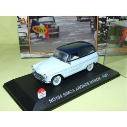 SIMCA ARONDE RANCH 1961 NOSTALGIE N0104 1:43