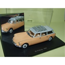 CITROEN ID 19 BREAK Orange 1960 UNIVERSAL HOBBIES  1:43 boite vitrine