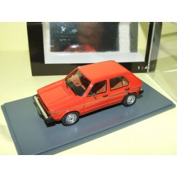 VW GOLF I RABBIT Rouge NEO 43955 1:43