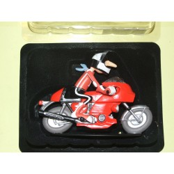 FIGURINE MOTO JOE BAR TEAM N°24 MARCEL SPIDE SUR HONDA 1000 BOL D'OR HACHETTE 1:18