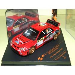 SUBARU IMPREZA WRC07 RALLYE DE CATALOGNE 2009 G.COFFEY VITESSE 43132 1:43 20ème