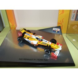 RENAULT F1 R29 2009 F. ALONSO N. PIQUET NOREV 1:43