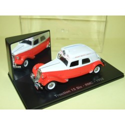CITROEN TRACTION 15 SIX RMC 1952 Tour de France UNIVERSAL HOBBIES  1:43 boite vitrine