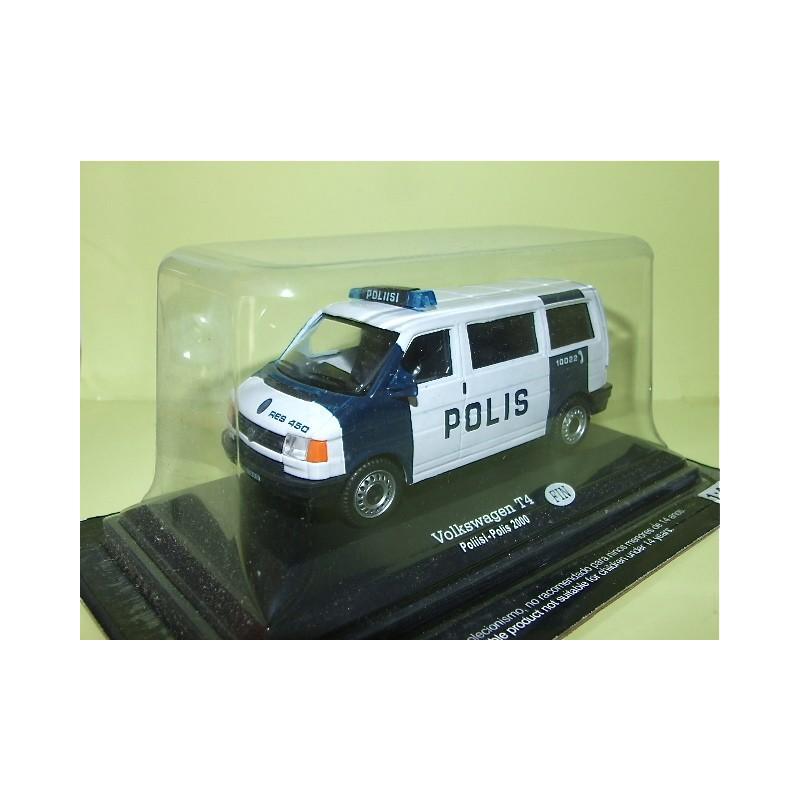 VW COMBI T4 POLICE FINLANDAISE POLIS 2000 FABBRI 1:43