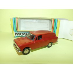 MOSKVITCH 412 COMMERCIALE FABRICATION RUSSE Made In URSS CCCP 1:43