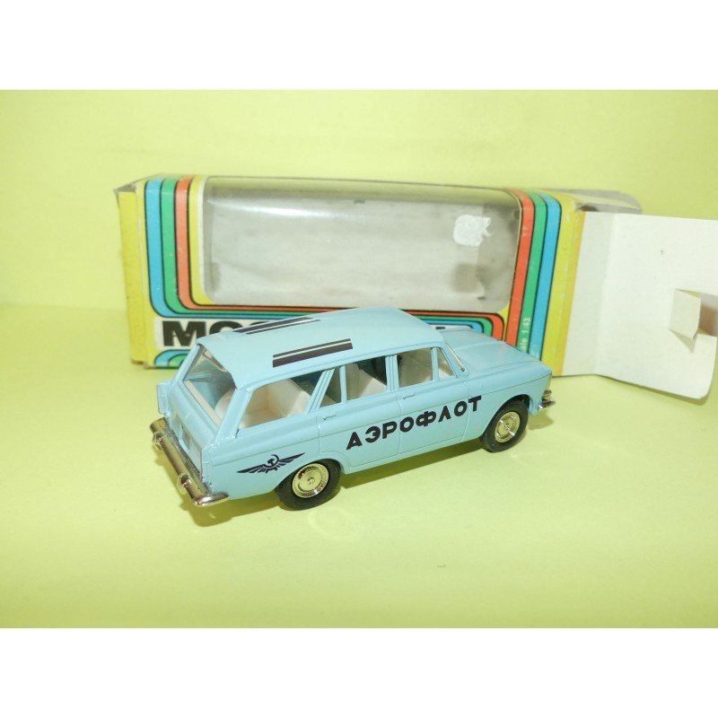 MOSKVITCH 426 AEROPORT FABRICATION RUSSE Made In URSS CCCP 1:43