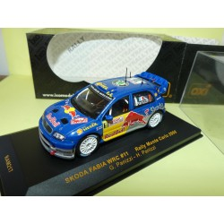 SKODA FABIA WRC RALLYE MONTE CARLO 2006 PANIZZI IXO RAM217 1:43 10ème