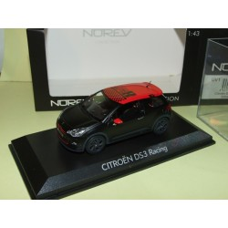 citroen ds3 racing s loeb 2012 noir mat norev 1 43 43miniauto. Black Bedroom Furniture Sets. Home Design Ideas