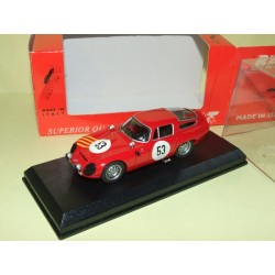 ALFA ROMEO TZ1 N°53 SEBRING 1964 BEST 9190 1:43 13ème 1er Cat
