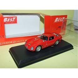ALFA ROMEO TZ2 PROVA 1965 Rouge BEST 9087 1:43