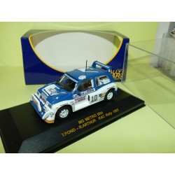 MG METRO 6R4 RAC RALLYE 1985 RALLY CAR 1:43 3ème