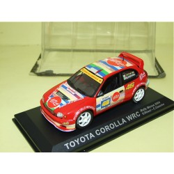 TOYOTA COROLLA WRC RALLY MONZA 2004 V. ROSSI ALTAYA 1:43  3ème sous coque